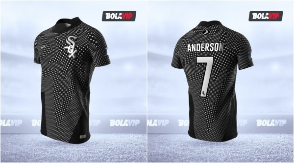 Jersey Chicago White Sox modo fútbol