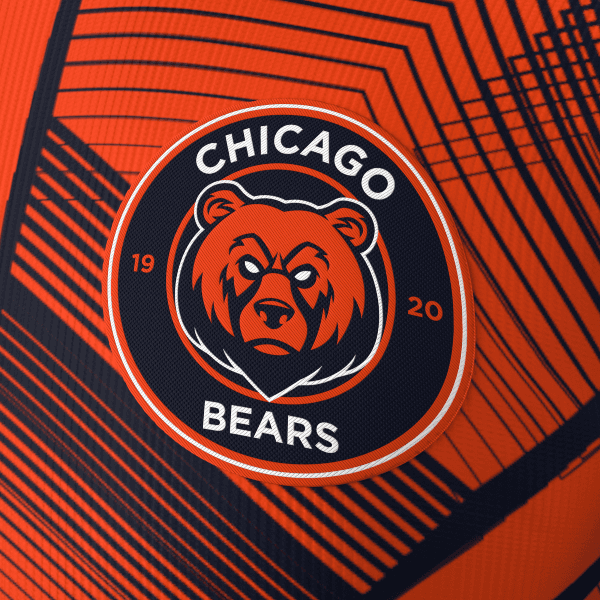 Bolavip Jersey Local Chicago Bears 3