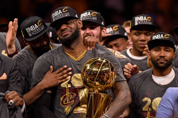 Cleveland Cavaliers: un título 2016 (Getty Images)