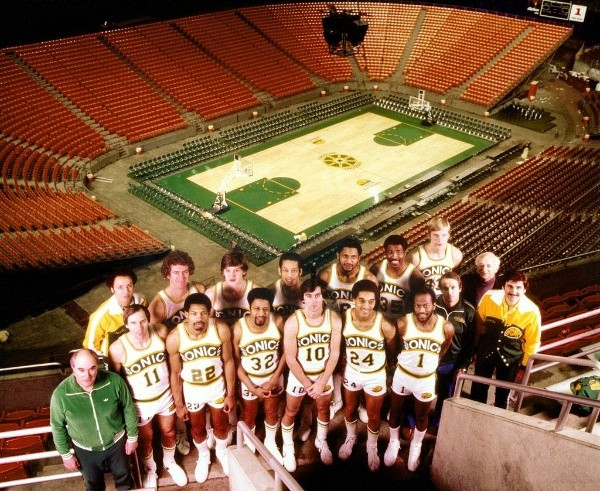 Oklahoma City Thunder (antes Seattle SuperSonics): un título 1979 (Getty Images)