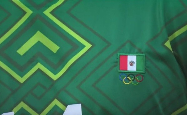 Tokio 2020: Bandera de México aparece al revés en el uniforme del Tri en su  debut en Juegos Olímpicos